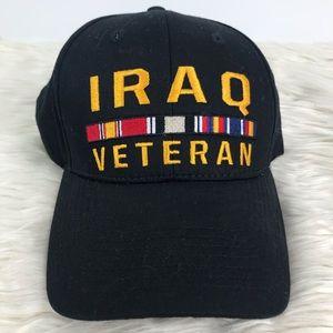 U.S. Honor Iraq Veteran baseball cap velcro strap